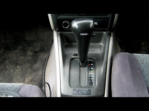 Диагностика АКПП Subaru Forester SF