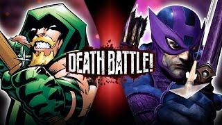 getlinkyoutube.com-Green Arrow VS Hawkeye | DEATH BATTLE!