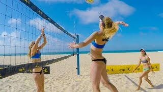 getlinkyoutube.com-GoPro: Beach Volleyball with April Ross