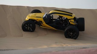 HBX Hammerhead 2WD Electric RC Dune Buggy Indoor Review
