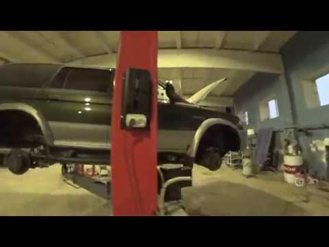 Подкрылки на Митсубиси Паджеро Спорт 1 (обновленное видео)