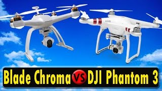 BEST DRONE FOR $500 - Blade Chroma vs DJI Phantom
