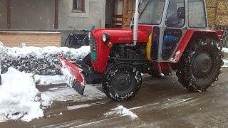 getlinkyoutube.com-Grtalica za Sneg - IMT 533 - Silbaš - Čišćenje snega