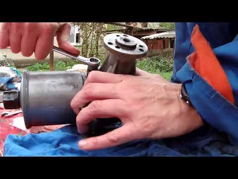 W124 замена сальника насоса гидроусилителя руля