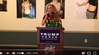 getlinkyoutube.com-Pamela Geller Speaks at Trump LGBT Wake Up! RNC Event