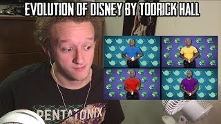 Evolution of Disney by Todrick Hall | REACTION