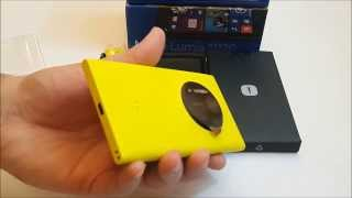 فتح علبة Nokia Lumia 1020