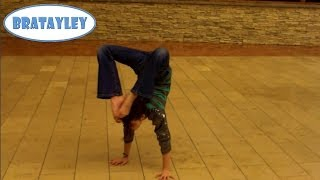Amazing Handstand in the Mall (WK 148.5) | Bratayley