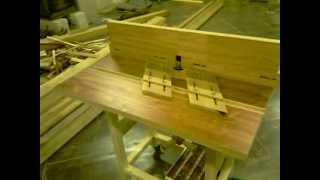 getlinkyoutube.com-Frézovací stôl - Domáca výroba /Router Table - Home Made/ part 1/3