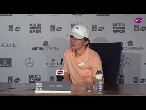 Simona Halep Press Conference | 2018 Mutua Madrid Open Second Round