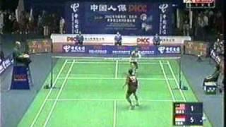 getlinkyoutube.com-2002 Thomas Cup Final Malaysia vs Indonesia : 3rd Men's Singles 4/4