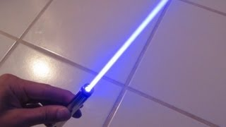 getlinkyoutube.com-DIY: Burning Blue Laser Pen!! Step by Step Construction and Burning Demo!
