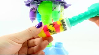 getlinkyoutube.com-Dohvinci color mixer de playdoh - Videos de juguetes en español