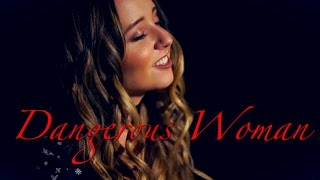 Dangerous Woman - Ariana Grande | Cover By Ali Brustofski (Music Video)