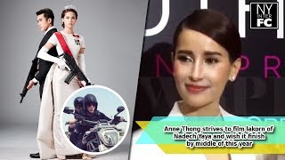getlinkyoutube.com-[ENG SUB] Anne Thong strives to film lakorn of Nadech Yaya, Wish it finish mid of this year 14/2/17
