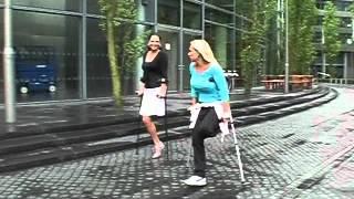 getlinkyoutube.com-Amputee Natalie and pretender Melanie