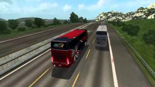 getlinkyoutube.com-Euro Truck Simulator 2 Bus trip to Napoli with Marcopolo Paradiso G7 1800 DD SCANIA K420 6X2 FINAL