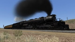 getlinkyoutube.com-Train Simulator 2014 HD EXCLUSIVE: Union Pacific Big Boy 4014 Excursion Over Sherman Hill