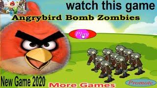 getlinkyoutube.com-Angrybirds Bomb Zombies Top Games For Kids 2015