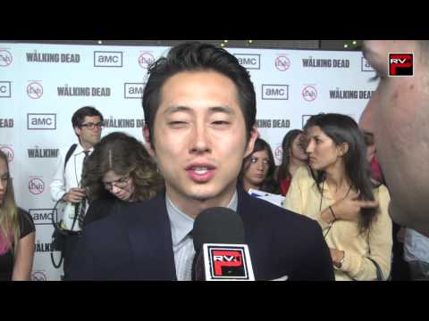 Interview with Steven Yeun at The Walking Dead Season 3 Premiere