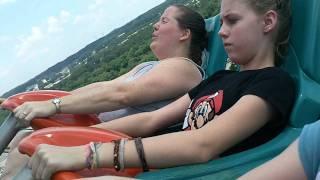 getlinkyoutube.com-Live Video from Goliath Roller Coaster