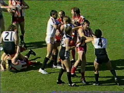 North vs Port - Round 21, 1989 - 1st quarter