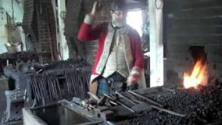 getlinkyoutube.com-Colonial Williamsburg - Blacksmith