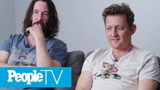 'Bill & Ted 3': Keanu Reeves, Alex Winter Talk Proposed Sequel | PeopleTV | Entertainment Weekly