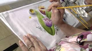 getlinkyoutube.com-Aprenda a fazer a pintura em tecido