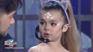 Xia Vigor as Ariana Grande: Break || Your Face Sounds Familiar Kids