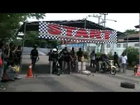 Drag race honda C70,C50,C90 Anniversary Koentoel Soerobojo 2nd part 2 .mp4