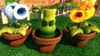 getlinkyoutube.com-Plants vs. Zombies: Garden Warfare - All New Plant Reinforcements