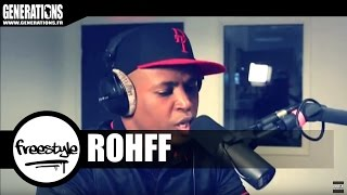 Rohff & DJ First Mike - Freestyle (Live des studios de Generations)