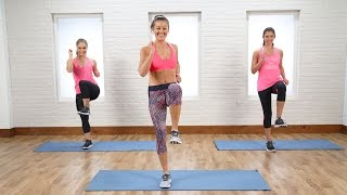 10-Minute Calorie Burning Cardio and Core Circuit | Class FitSugar