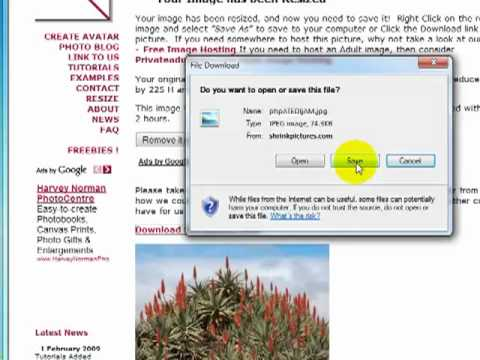 Image Resizer resize images Fast And Easy - How To Create A Website