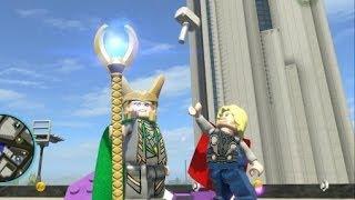 getlinkyoutube.com-LEGO Marvel Super Heroes (PS4) - Loki Free Roam Gameplay