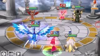 getlinkyoutube.com-Summoners War: Power of Sigmarus - Vs heavy revive team