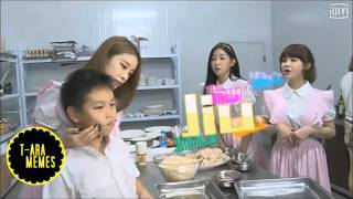 T-ARA  ( BoRam, Soyeon, Jiyeon ) - Funny Moments in