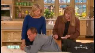 Craig gets bee venom therapy on Martha Stewart