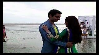 getlinkyoutube.com-Beintehaa : Behind the scenes, Zain - Aaliya on date - IANS India Videos