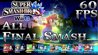 getlinkyoutube.com-All Final Smashes in 8 Player mode - 60fps 1080p - Super Smash Bros Wii U