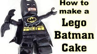 getlinkyoutube.com-Lego Batman Movie Cake HOW TO COOK THAT
