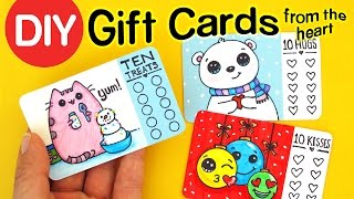 getlinkyoutube.com-DIY How to Make Gift Cards from the Heart - Christmas Holiday Craft