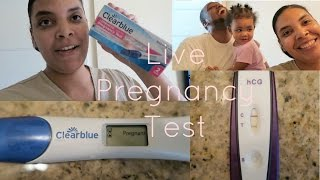 getlinkyoutube.com-Live Pregnancy Test Reaction 2016 *Emotional Ending*-The Minor Life Family Vlogs