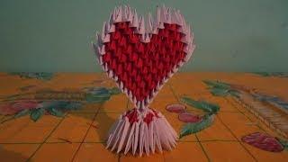 getlinkyoutube.com-como hacer un corazon de origami 3d