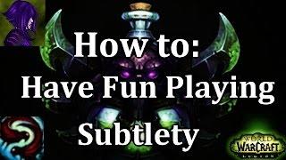 Ω Sativ 7.1.5 Subtlety Rogue PvP Guide - Highest Damage Build - How to Play Subtlety