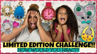 getlinkyoutube.com-SHOPKINS LIMITED EDITION CHALLENGE!! ~ How Would You React?