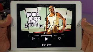 getlinkyoutube.com-iPad Air 2 - GTA San Andreas Gameplay in 60fps Video