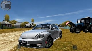 getlinkyoutube.com-City Car Driving 1.5.3 VW Beetle 2011 [G27]