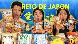 getlinkyoutube.com-Reto con BOTANAS JAPONESAS!! | #RetoPolinesio